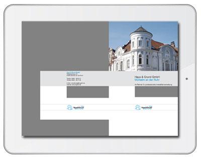 Haus & Grund Mülheim an der Ruhr - Grafikdesign Iwona Downar-Grafikdesign Iwona Downar