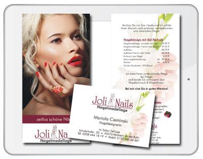 JoliNail - Grafikdesign Iwona Downar