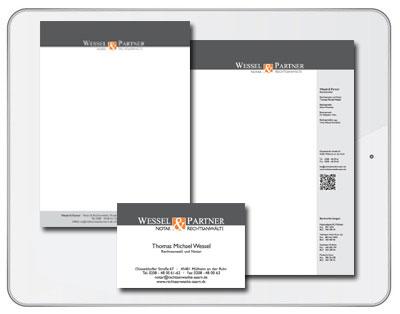 Wessel & Partner - Rechtsanwälte & Notar Mülheim an der Ruhr-Grafikdesign Iwona Downar