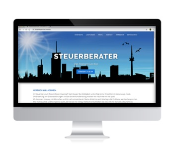 Steuerberater Essen Lutz Rose - Webdesign Iwona Downar