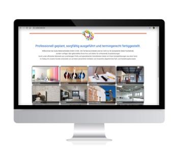 Zuzka GmbH Sanierung, Malerwerkstätte Köln - Webdesign Iwona Downar